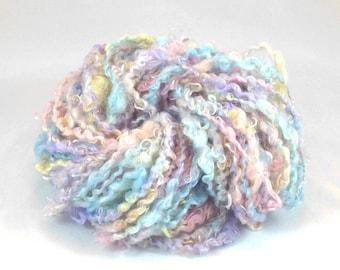 Handspun Silky Kid Mohair Locks - Baby Pastels