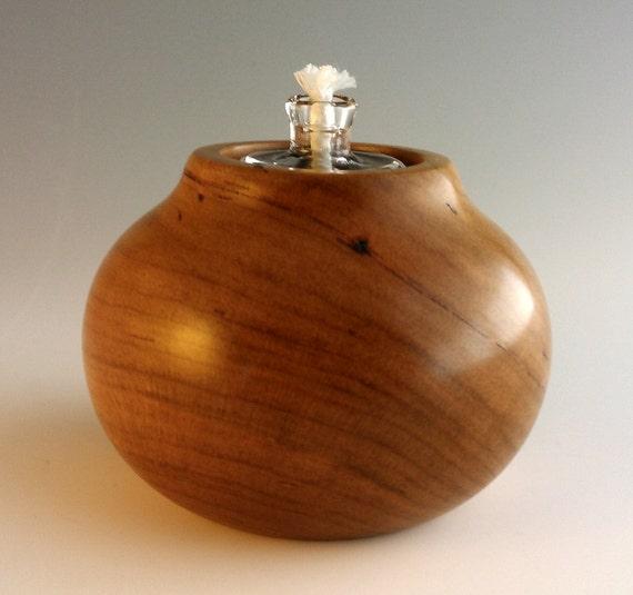 bougie bois de cerise noire lampe p trole lampe huile en. Black Bedroom Furniture Sets. Home Design Ideas