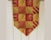 Harry Potter Gryffindor House - Wall Hanging Banner Flag Fabric pennant Cotton home decro decro