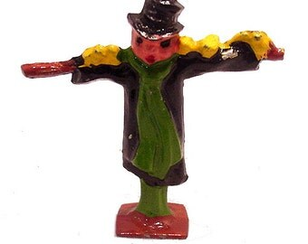 1930s France Lead Scarecrow - Excellent
