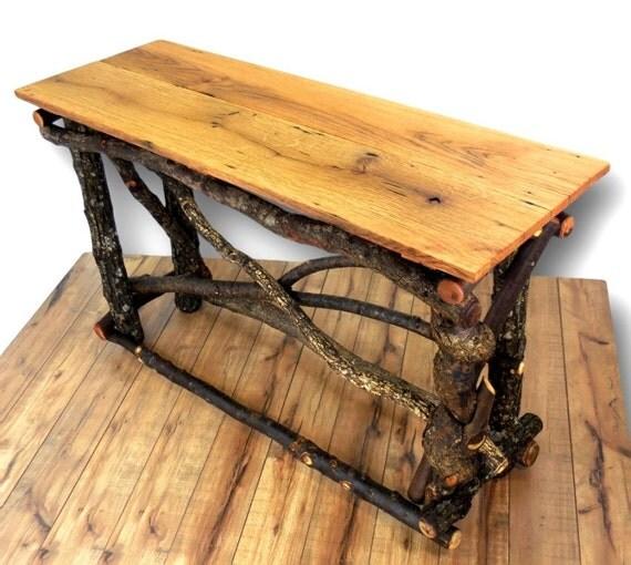 Reclaimed Wood Sofa Table, Entryway Table, Reclaimed Wood Table ...