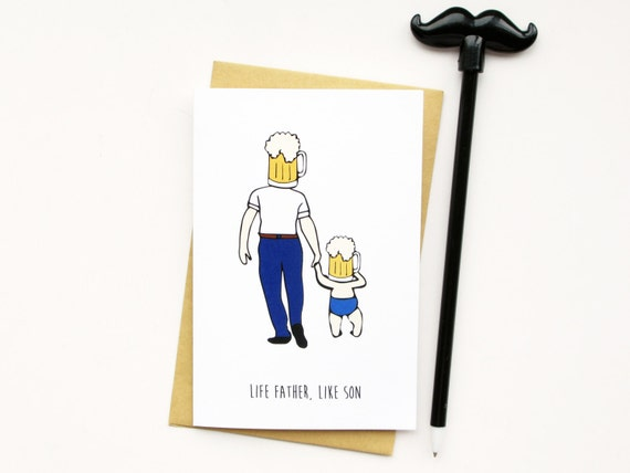 Funny Fathers Day Cardfathers Day Card Cardrd For Dad