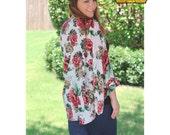 Summer Kimono PDF Sewing Patterns for Pirates cardigan, knit, woven, robe, tutorial, womens, plus, juniors, ladies