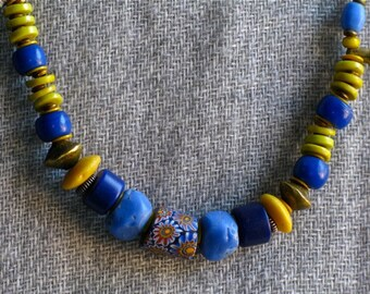 Old Milleflori Beaded Necklace