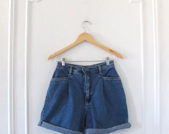 Cherokee High-waisted Denim Shorts - Size 6
