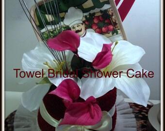 Bridal Shower Bridal Shower Decoration Towel Centerpeice Wedding Shower Bridal Shower Gift Bridal Shower Prize
