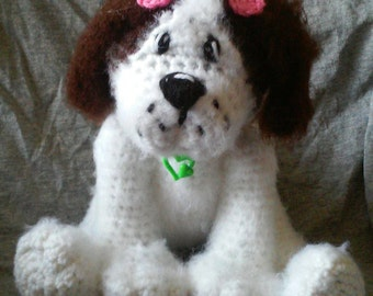 Crochet Puppy Dog Amigurumi Pattern Only
