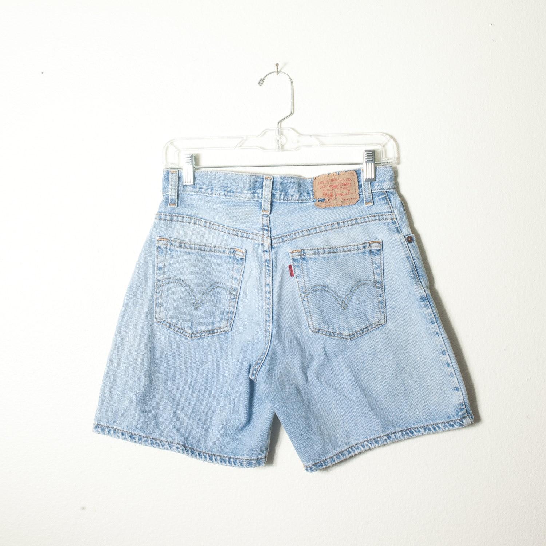 vintage levi shorts high waisted shorts by. Black Bedroom Furniture Sets. Home Design Ideas