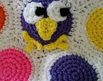Owltastic! Children's Owl Afghan