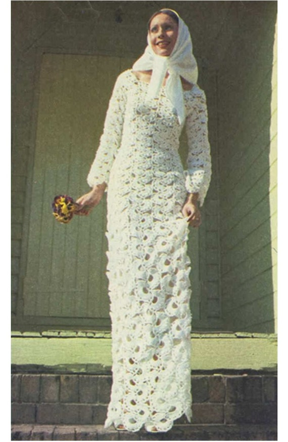 Modelos de vestidos de novia a crochet – Moda Española moderna 2018
