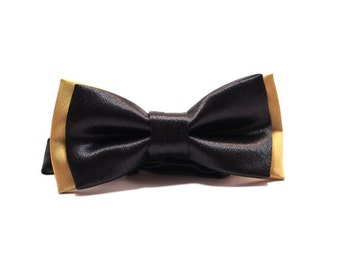 Bow Tie black - gold
