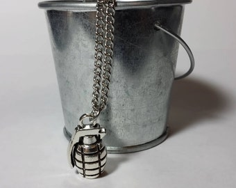 Grenade Necklace - 18 Inches