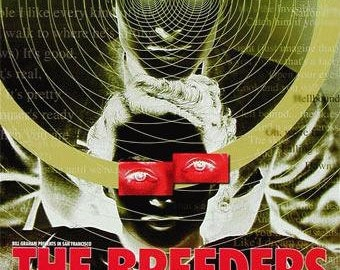 Breeders Fillmore 2002 F530 Original Concert Poster