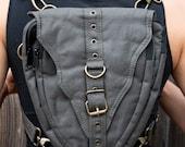 Time Traveler Belt II (backpack, hip belt, utility belt, pocket belt, leg belt, shoulder bag, messenger bag, festival belt, Burning Man)
