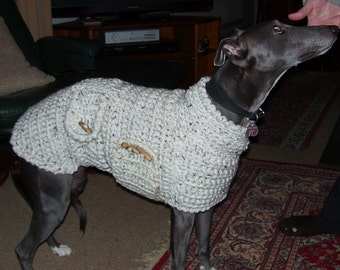 Whippet Sweater Whippet Pullover Whippet Coat Whippet Clothing Whippet Jumper Whippet Winter Coat Sherpa Lamb Fleece Lining