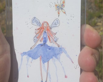Fairy mini art ACEO 01