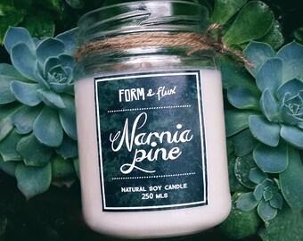 Narnia Pine - Jam Jar Candle