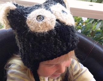 Woolly Owl beanie