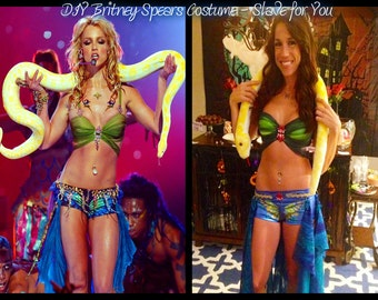 Britney Spears Slave For You Costume