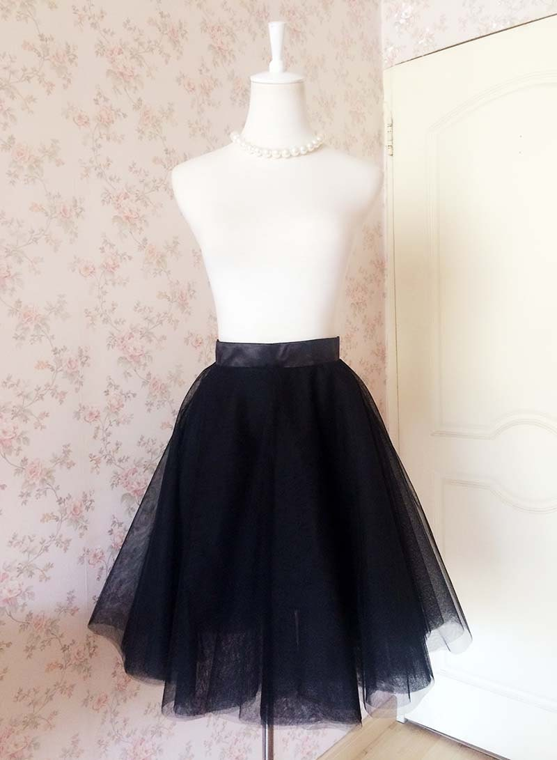 2017 black tulle skirt tulle skirt by