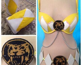 Custom Handmade Power Ranger Bra