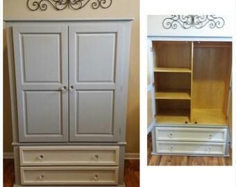 SOLD - Armoire Closet Dresser