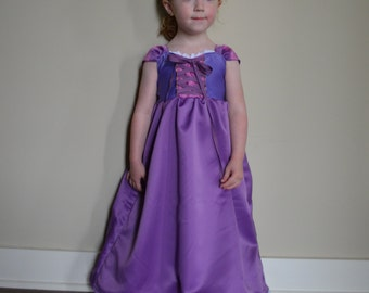 Princess Dress - Gown in purples and pink
