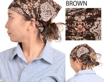 3 Color Design Cotton Headband JAPANESE Bandana Hat DESIGN Men Women Light Weight Summer Head Wear Hair Band 10th-cbt7