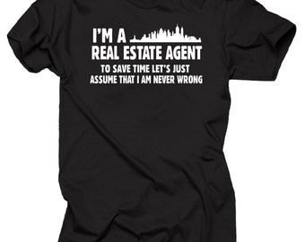 Real Estate Agent Gift For Real Estate Agent Tee Shirt