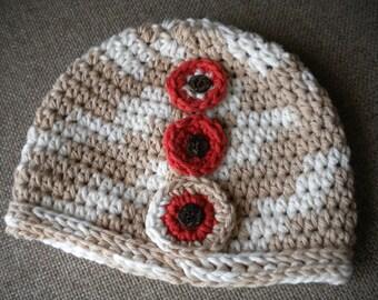 Baby Girl Hat. Baby Cotton Hat. Newborn Hat. Crochet Hat. Baby Girl Clothes. Newborn Baby Hat,  Crochet Baby Hat. Baby Beanie Hat.