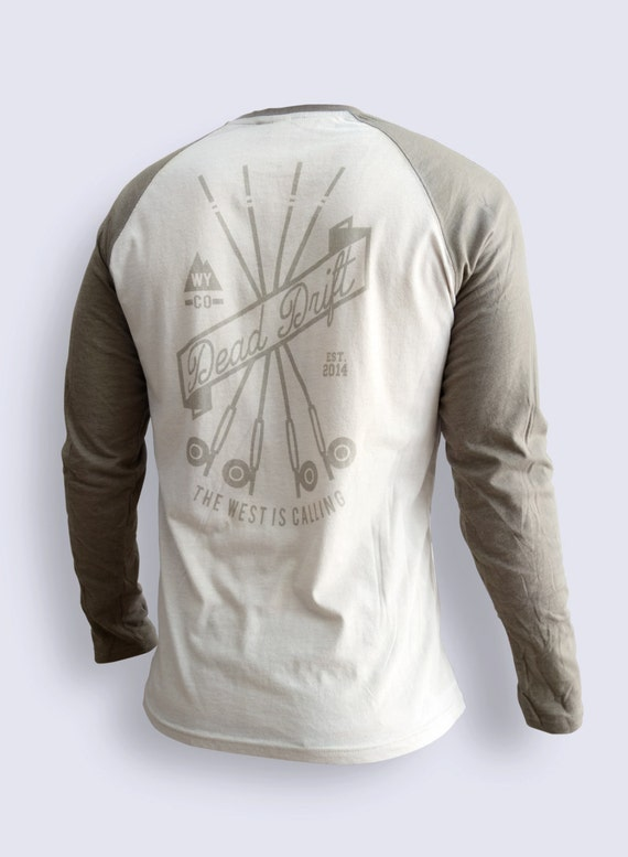 Fly fishing long sleeve drifter by dead drift fly fishing for Fishing gear clothing