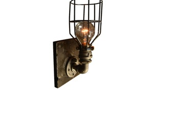 Wall Sconce - Wall light - Sconces - Industrial Sconce - Steampunk Sconce - House decor - boho decor - wall decor - kitchen decor - fixture
