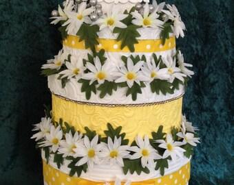 Wedding Card Holder,wedding card box,wedding dress,wedding invitation,daisies,rustic wedding,white wedding dress,daisy,wedding beach towels