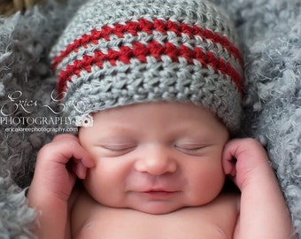 Crochet Baby Hat, Ready to Ship, Toddler Beanie, Baby Boy Hat, Newborn Photo Prop, Coming Home Hat, Baby Shower Gift, Newborn Hat, Baby Boy
