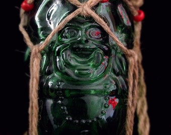 Water Vessel: Green Buddha