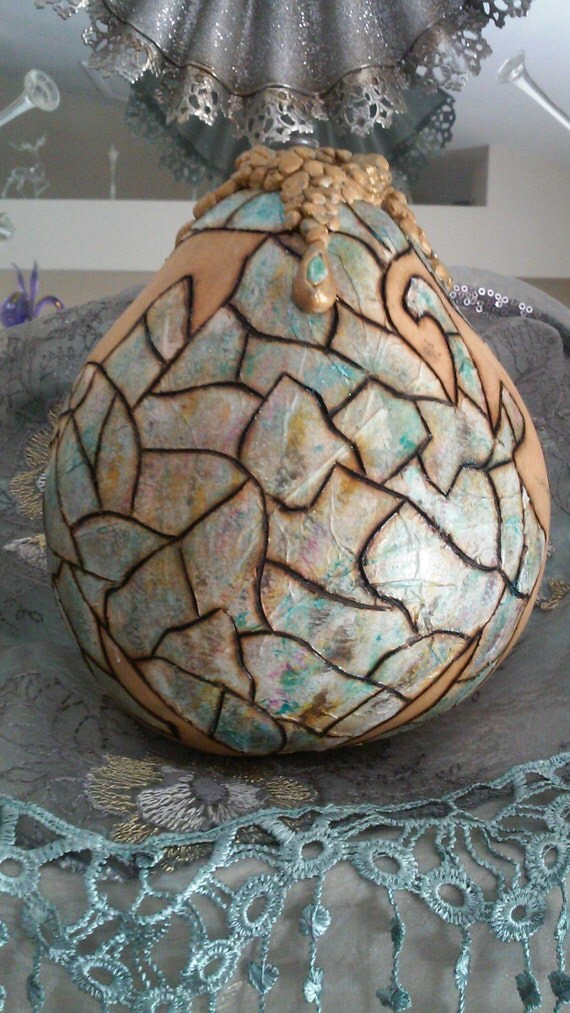 one of a kind unique gourd with accented design for home decor society6 tv commercial shop for one of a kind home decor