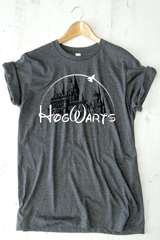 HOGWARTS T-shirt Harry Potter t shirt tee shirt by ...