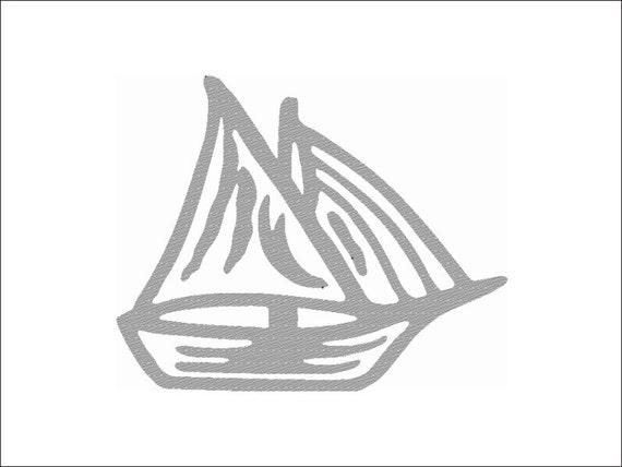 Barca otto file di ricamo a macchina formati disponibili per for Ricamo a macchina