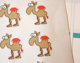 "10 ""Hump Day"" stickers"