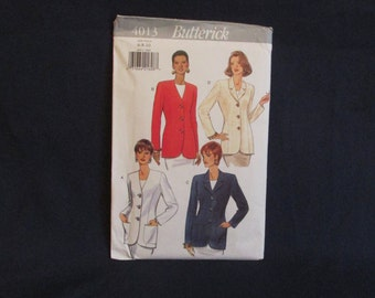 Butterick 4013 Women's Jacket Sewing Pattern Uncut Size 6 - 8 - 10