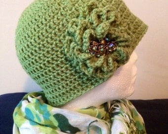 SAGE…Crocheted Women's Hat