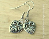 From USA Victorian Style Design on Surgical Steel French Hook Earrings