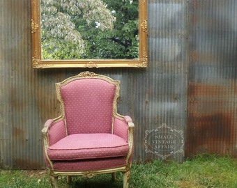 V I N T A G E   Baroque Vintage Gold Mirror