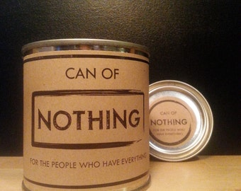 Can of Nothing