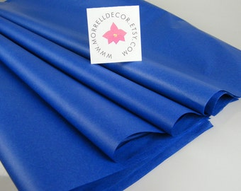 "Royal Blue Tissue Paper | 24 Tissue Sheets 20"" X 30"" 