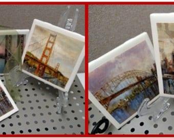 Iconic Bridges Coasters