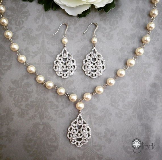Mother Of The Bride Jewelry: Items Similar To Bridal Jewelry Set, Wedding Jewelry Set