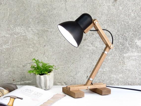 Geometrische lampe mehanik tischleuchte nachtlicht von paladim