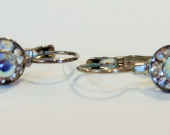 SALE 50% OFF -- Crystal Drop Earrings, Dangle Earrings, Pear Drop Earrings