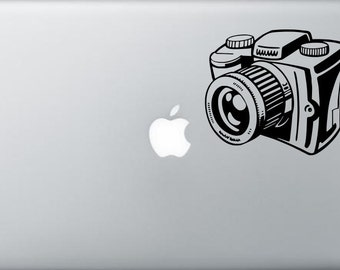 Canon Camera Funny & cool laptop tablet macbook air apple ipad Decal Sticker vinyl  car window decal AS55